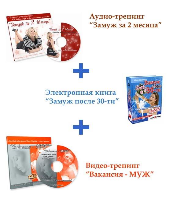 Комплект Успешной Невесты. VIP-пакет(электронная версия)